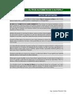 2. 2. Filtros Automáticos (Autofiltros)