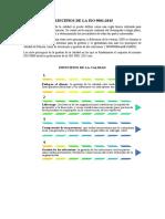 PRINCIPIOS Y COMPONENTES DE LA ISO 9001