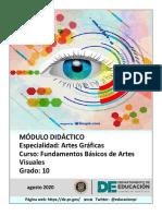 FUNDAMENTOS DE ARTES VISUALES