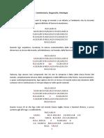 Combinatoria, Steganalisi, Ontologia