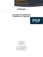 X-Fluxer IQOQ document V1.5.FR (2018-02)