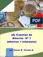 (A) PCGE 2020 Ctas. de Ahorro 1 (Ahorro más intereses)