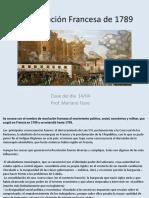 Revolución francesa power point clase 14-04