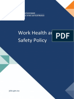 WHS Work Health and Safety Policy