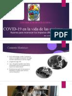 EL COVID 19 EN LA VIDA DE LAS MUJERES