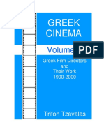 Greek Cinema Volume 4 Directors of Feature Films  032212