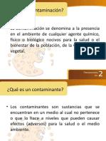 7. ORÍGENES DE LA CONTAMINACIÓN