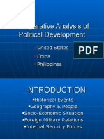 Copy of Comparative Analysis of Political Development