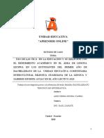 PROYECTO DE GRADO INDIRA ANDY MUSHUK AYLLU 1