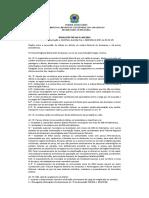 Resolução n. 05-2012 - Diárias