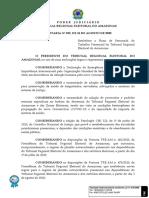 Portaria nº 539-2020 - Plano de Retomada do Trabalho Presencial