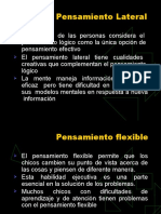 Pensamiento Flixible y Lateral - Nelson Gonzales