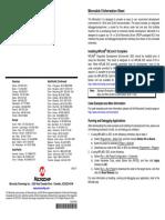 Microstick II Information Sheet
