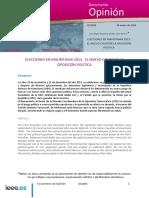 DIEEEO10-2014 Elecciones Mauritania Aparicio-Ordas