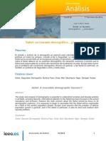 DIEEEA03-2018 Sahel-Tsunami Demografico Reversible JAMT