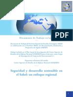 DIEEET01-2017 Seguridad DesarrolloSostenible Sahel IFC