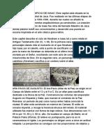 CAPITEL DEL SACRIFICIO DE ISAAC