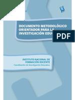 Bravin, Pievi - 2008 - Documento metodológico orientador para la investigación educativa
