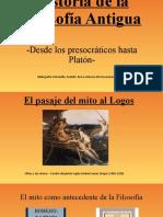 2- Power Point - Historia de La Filosofía Antigua -Desde Los Presocráticos Hasta Platón- Prof Lucas Roldán
