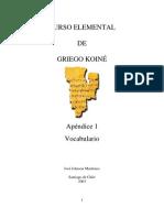 Curso elemental de Griego  Koine