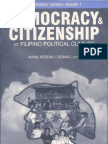 Philippine Democracy Agenda Vol. 1 - Democracy & Citizenship in Filipino Political Culture