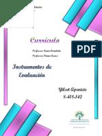 INSTRUMENTOS DE EVALUACION -