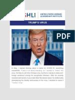 Dr. Juan Andrade, Jr. - USHLI - Trump's Virus