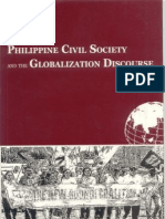 Philippine Civil Society and the Globalization Discourse