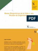 Sesión 01 - Bases Bioquimicas de la vida y su organizacion en niveles (2)