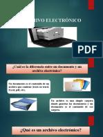 ARCHIVOS ELECTRONICOS