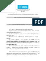 REGIMENTO ESCOLAR - CONTRIBUICOES GRE CABULA