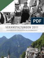 Veranstaltungen Dachstein Salzkammergut 2011