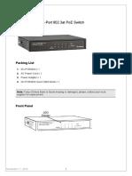 GV-POE0400 Installation Guide
