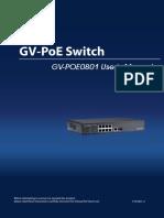 GV-POE0801 User Manual(POE0801-A-EN)