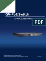 GV-POE2401 User Manual(POE2401-A-EN)