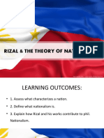 RIZAL AND THE THEORY OF NATIONALISM