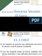 Medios Sonoros Vocales