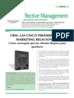 CRM_ LAS CINCO PIRÁMIDES DEL MARKETING RELACIONAL