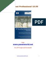 Pavan+Advanced QTP Guide