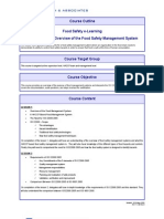 ISO22000 Overview of the FSMS
