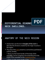 Differential Diagnosis of Neck Swellings