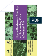 Disseminating Peace in Southeast Asia (Proceedings)
