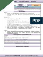 Septiembre - 4to Grado Artes (2020-2021)