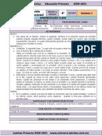 Septiembre - 4to Grado Educación Socioemocional (2020-2021)
