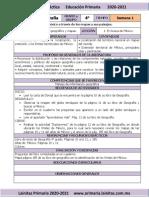 Septiembre - 4to Grado Geografía (2020-2021)