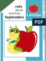 4to Grado - Cuadernillo de Ejercicios (septiembre)