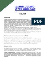 Corrado Malanga - Facciamo l'Uomo a Nostra Immagine