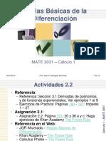 2_2_Reglas Basicas de la Diferenciación