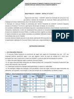 Concurso Público 01/2014 CODASP reto 1