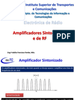 Aula 2 - Amplificadores Sintonizados e de RF